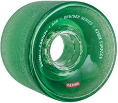 Globe Conical Cruiser Wheels Clear Forest 65mm