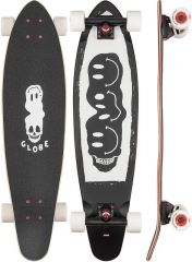 GLOBE 34 Bells Black/White/Red Longboard Complete