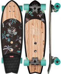 GLOBE 30 Sun City Olivewood/Neon Jungle Cruiser Complete set