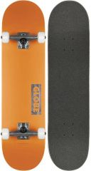 GLOBE Goodstock Neon Orange Skateboard complete 8.125
