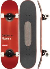 GLOBE G3 Bar Red Skateboard complete 8.25