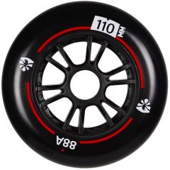 FLYING EAGLE SPEED WHEELS BLACK 110MM 8PCS