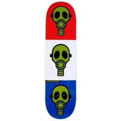 AWS GAS MASK BRIGHT 8.125  DECK ONLY