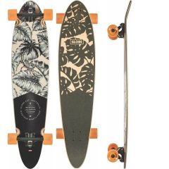 לונגבורד GLOBE Pinner 40 Classic Hurricane Leaves Longboard