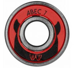 WICKED BEARING Abec 7 Carbon Pro 8pcs