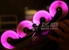 FLYING EAGLE LAZERWHEELZ PINK 4 PCS 72mm