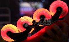 FLYING EAGLE LAZERWHEELZ RED 4 PCS