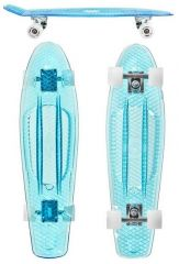 CHOKE SKATEBOARDS Big Jim 28*7.5 clear blue LED