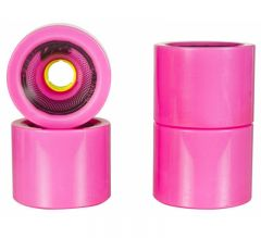 UTUBA Speedster Pink 75mm 57mm 81A Wheels 4-Pack