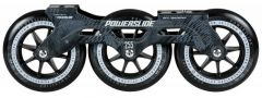 POWERSLIDE MEGACRUISER FRAME SET 3X125 BLACK