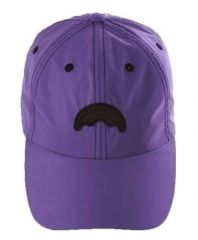 Sprayground PURPLE 3M SHARK MOUTH HAT
