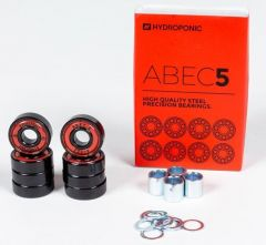 HYDROPONIC ABEC5 Red Bearings 8 pack