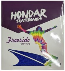 HONDAR FREERIDE GRIPTAPE BLUE 10''X11'' 4 SHEETS