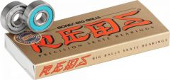 Bones BIG BALLS REDS Skateboard Bearings 8 pack