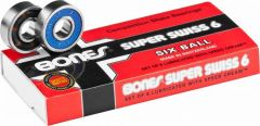 מיסבים Bones Super Swiss 6 Skateboard Bearings 8 pack