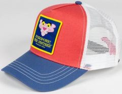 HYDROPONIC PINK PANTHER HEAD CORAL/BLUE/WHITE CAP