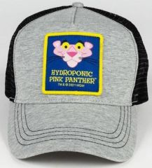 HYDROPONIC PINK PANTHER HEAD Heather Grey/Black CAP