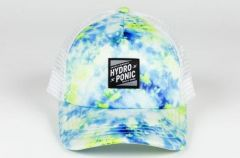 HYDROPONIC TIE DYE BLUE YELLOW WHITE CAP