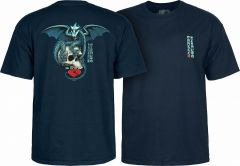 Powell Peralta T-shirt Dragon Skull Navy