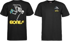 חולצה Powell Peralta Skate Skeleton T-shirt - Black