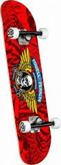 Powell-Peralta Winged Ripper Red 7.0 Complete Skateboard