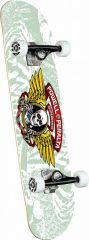 Powell-Peralta Winged Ripper White Complete Skateboard 8.0