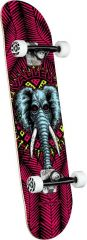 Powell Peralta Vallely Elephant One Off Red Birch Complete Skateboard 8.25