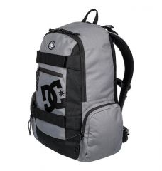 תיק גב סקייט DC The Breed 26L - Medium Backpack for Men Grey