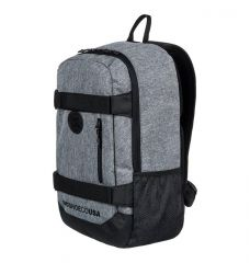 תיק גב סקייט DC Clocked 18L - Medium Backpack for Men Grey