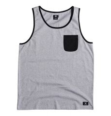 DC Men's Contra 2 Tank Grey Heather