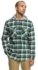 DC Runnels Long Sleeve Hooded Flannel Shirt 1