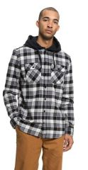 DC Runnels Long Sleeve Hooded Flannel Shirt 2