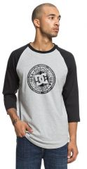 DC Research 3/4 raglan TEE XKKS