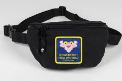 HYDROPONIC FANNY PACK PANTHER HEAD BLACK