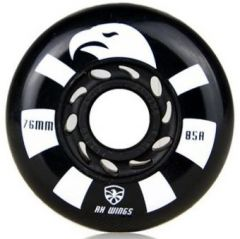 FLYING EAGLE RX WINGS WHEELS BLACK 4 PCS