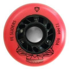 FLYING EAGLE FE SLIDER WHEELS RED 72MM 4 PCS
