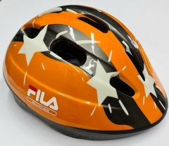 קסדה Fila Skates X-One Orange Stars Kids Helmet XS 52-54