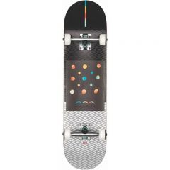 GLOBE G1 Nine Dot Four Black White Skateboard complete 8.00