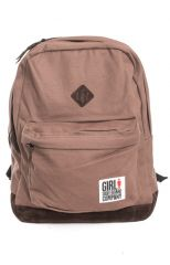 GIRL SIMPLE BACKPACK BROWN