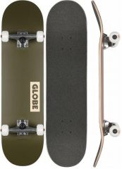 GLOBE Goodstock FATIGUE GREEN Skateboard complete 8.25