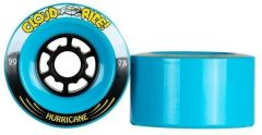 CLOUD RIDE 90mmX50mm BLUE HURRICANES WHEELS set of 4