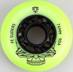 FLYING EAGLE SLIDER WHEELS GREEN 4 PCS