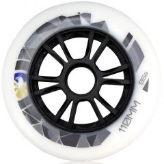 FLYING EAGLE SPEED WHEELS WHITE 110MM 8PCS
