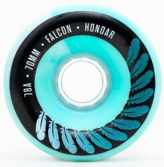 HONDAR FALCON WHEELS 70mmX31mm 78A BLUE SET OF 4