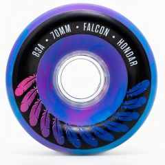 HONDAR FALCON WHEELS 70mmX31mm 83A PURPLE SET OF 4