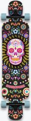 HYDROPONIC 39 DT MEXICAN SKULL LONGBOARD COMPLETE
