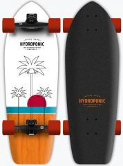 HYDROPONIC 30 PALMS WHITE ORANGE SURFSKATE COMPLETE