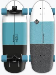 HYDROPONIC 30 HAV TURQUOISE BLACK SURFSKATE COMPLETE