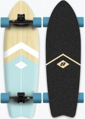 HYDROPONIC 30.875 CLASSIC LIGHT BLUE SURFSKATE COMPLETE