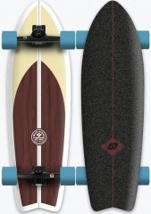 HYDROPONIC 30.875 CLASSIC BROWN SURFSKATE COMPLETE